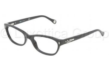 D&G DD1205 Eyeglass Frames 501-5017 - Black