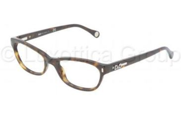 D&G DD1205 Progressive Prescription Eyeglasses 502-5017 - Havana