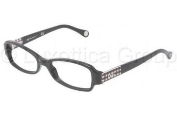 D&G DD1206 Progressive Prescription Eyeglasses 1838-4816 - Black