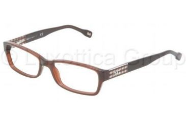 D&G DD1207 Single Vision Prescription Eyewear 1839-5116 - Brown