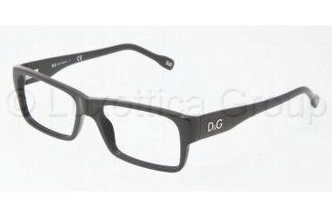 D&G DD1210 Eyeglass Frames 501-5116 - Black