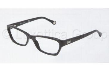 D&G DD1216 Eyeglass Frames 501-5016 - Black