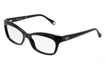 D&G DD1232 Eyeglass Frames 501-5316 - Black Frame