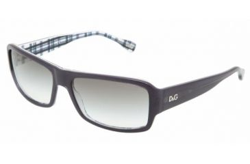 DandG DD3060 #17758E - Sea Blue On Check Green Gradient Frame