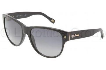 D&G DD3062 Bifocal Prescription Sunglasses DD3062-501-8G-5917 - Frame Color: Black, Lens Diameter: 59 mm