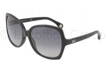 D&G DD3063 Progressive Prescription Sunglasses DD3063-501-8G-5817 - Frame Color: Black, Lens Diameter: 58 mm