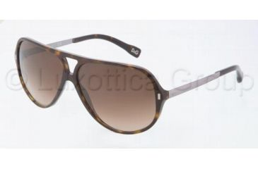 D&G DD3065 Bifocal Prescription Sunglasses DD3065-502-13-6012 - Frame Color: Havana, Lens Diameter: 60 mm