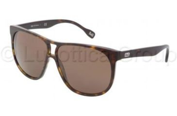 D&G DD3076 Single Vision Prescription Sunglasses DD3076-502-73-5911 - Frame Color Havana, Lens Diameter 59 mm