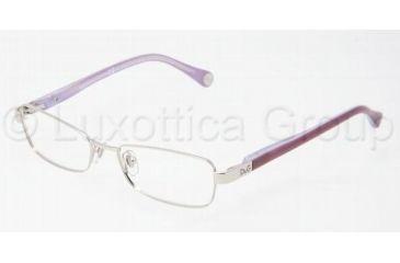 D&G DD5096 Single Vision Prescription Eyewear 1068-4916 - Silver