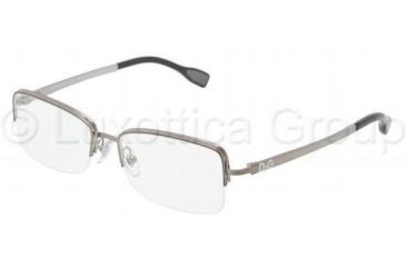 D&G DD5107 Progressive Prescription Eyeglasses 04-5216 - Gunmetal Frame