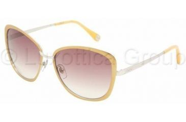 D&G DD6077 Single Vision Prescription Sunglasses DD6077-101413-5816 - Lens Diameter: 58 mm, Frame Color: Yellow / Silver