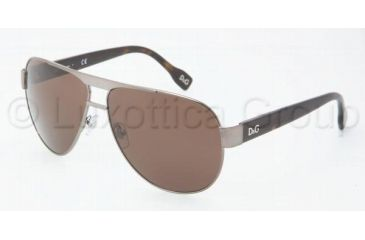 D&G DD6080 Bifocal Prescription Sunglasses DD6080-090-73-6312 - Frame Color: Gunmetal, Lens Diameter: 63 mm