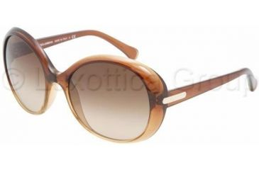 D&G DD8085 Single Vision Prescription Sunglasses DD8085-178113-5818 - Lens Diameter: 58 mm, Frame Color: Brown Gradient