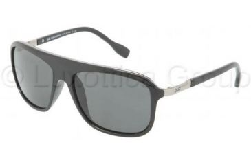 D&G DD8088 Progressive Prescription Sunglasses DD8088-501-87-5816 - Lens Diameter 58 mm, Frame Color Black