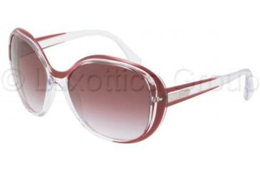 D&G DD8090 Sunglasses 19898H-6016 - Transparent / Plum Frame, Violet Gradient Lenses