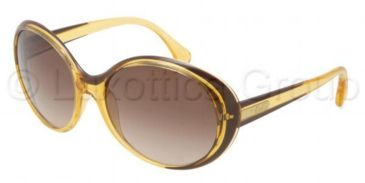 D&G DD8093 Sunglasses 198513-5917 - Brown Gradient Frame