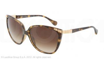 D&G WAVE DETAIL DD8096 Progressive Prescription Sunglasses DD8096-502-13-58 - Lens Diameter 58 mm, Frame Color Havana