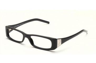 D&G DD1116-501-5116 Eyeglasses with Lined Bifocal Rx Prescription Lenses Black Frame / 51 mm Transparent Lenses