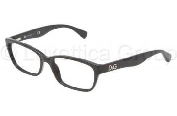 D&G Glitter DD1249 Bifocal Prescription Eyeglasses 501-5316 - Black Frame