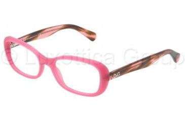 D&G PLAYFUL CHIC DD1247 Bifocal Prescription Eyeglasses 2599-5017 - Matte Pink Frame