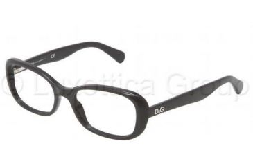 D&G PLAYFUL CHIC DD1247 Bifocal Prescription Eyeglasses 501-5217 - Black Frame