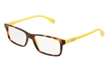 D&G Vibrant colours DD1244 Eyeglass Frames 2606-5316 - Dark Steel Frame
