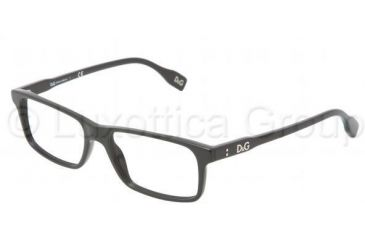 D&G Vibrant colours DD1244 Bifocal Prescription Eyeglasses 501-5316 - Black Frame