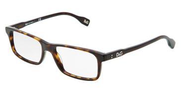 D&G Vibrant colours DD1244 Eyeglass Frames 502-5116 - Havana Frame