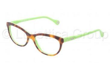 D&G VIBRANT COLOURS DD1245 Prescription Eyeglasses 2687-5116 - Dark Steel Frame