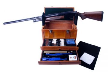 DAC Technologies Universal Gun Cleaning Kit with Wooden Toolbox TBX96-W