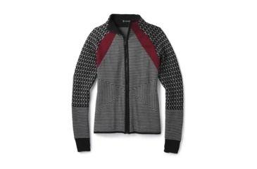 7535f3c13701c7 Smartwool Dacono Ski Full Zip Sweater-Women's, Black, Small, SW000315001-S
