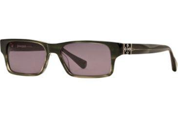 Dakota Smith Instinct SEDS INSN06 Single Vision Prescription Sunglasses SEDS INSN065445 GN - Frame Color: Olive, Lens Diameter: 54 mm, Lens Diameter: 57 mm