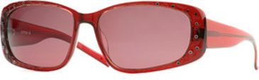 Dakota Smith Montana SEDS MONA06 Sunglasses - Cranberry SEDS MONA066030 RD