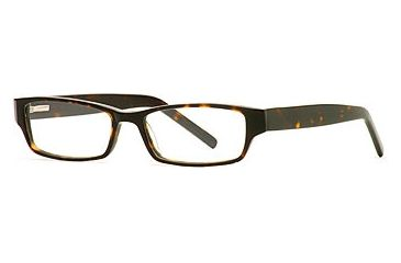 Dakota Smith Prep School SEBM PREP00 Single Vision Prescription Eyewear - Tortoise SEBM PREP005145 TO