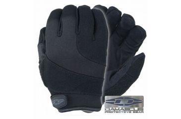 Damascus Protective Gear DPG125Q5 Patrol Guard Gloves with Razornet Ultra Highly Cut Resistant Liners, Medium, Black, Black, Medium DPG125Q5MED