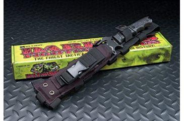Dark Operations Knives Nylon Sheath for Paul Basal - Black, Black DOH140