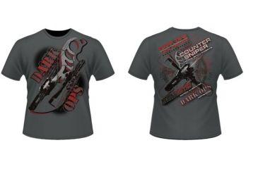 Dark Ops Holdings Fighting Knives Short Sleeve T-Shirt, Smoke