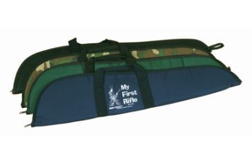 Davey Crickett Scoped Rifle Case with Logo Green KSA035G