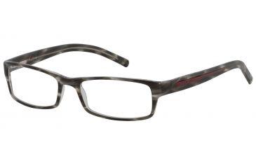 Davidoff 91008 Single Vision Prescription Eyeglasses - Anthracite Frame and Clear Lens 91008-6050SV