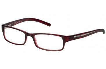 Davidoff 91008 Single Vision Prescription Eyeglasses - Brown Frame and Clear Lens 91008-6270SV