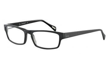 Davidoff 91020 Bifocal Prescription Eyeglasses - Black Frame and Clear Lens 91020-8840BI