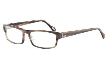 Davidoff 91020 Bifocal Prescription Eyeglasses - Brown Frame and Clear Lens 91020-6397BI