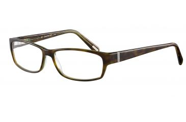 Davidoff No. 91024 Eyeglasses - Brown Frame and Clear Lens 91024-6351