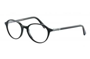 Davidoff 91025 Bifocal Prescription Eyeglasses - Black Frame and Clear Lens 91025-8840BI