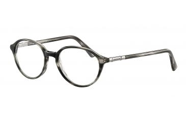 Davidoff 91025 Bifocal Prescription Eyeglasses - Grey Frame and Clear Lens 91025-6413BI