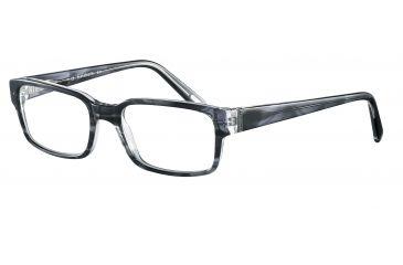 Davidoff 91027 Single Vision Prescription Eyeglasses - Anthracite Frame and Clear Lens 91027-6339SV