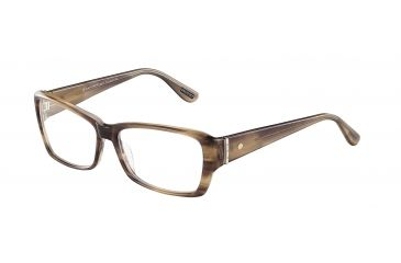 Davidoff 91501 Bifocal Prescription Eyeglasses - Brown Frame and Clear Lens 91501-6397BI