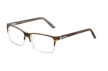 Davidoff 92008 Bifocal Prescription Eyeglasses - Brown Frame and Clear Lens 92008-6338BI