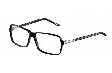 Davidoff 92009 Bifocal Prescription Eyeglasses - Black Frame and Clear Lens 92009-8840BI