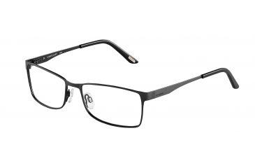 Davidoff 93039 Progressive Prescription Eyeglasses - Black Frame and Clear Lens 93039-420PR